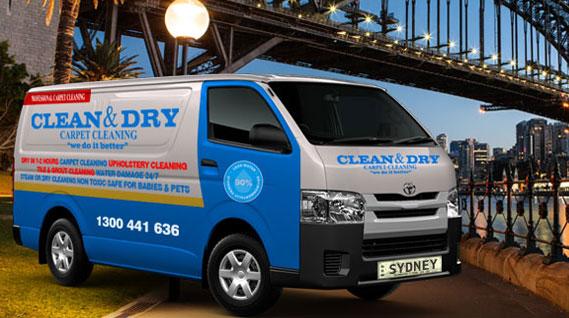 Sydney-carpet-cleaning-van